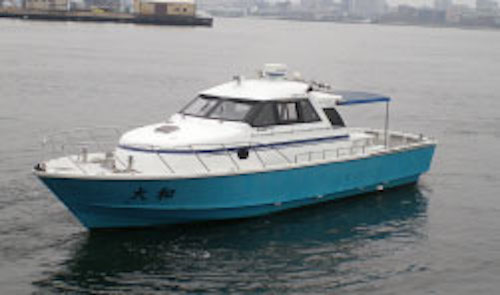 ファミリーホール港南台の海洋散骨、東神奈川桟橋出港10名様プラン242,000円