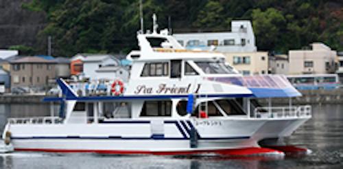 ファミリーホール港南台の海洋散骨、東神奈川桟橋出港80名様プラン327,800円