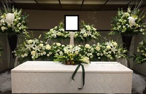 ファミリーホール港南台、オリジナル花祭壇